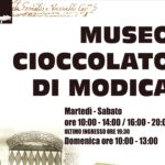 Riapre il Museo del Cioccolato di Modica. Accesso gratuito per tutto il Personale Sanitario dell'intero territorio nazionale impegnato per combattere il COVID19