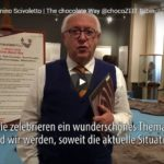 Saluti dal Presidente Scivoletto in occasione di ChocoZEIT Tübingen