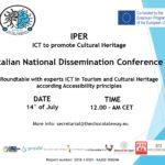Convegno Nazionale Progetto IPER - ICT to promote cultural heritage